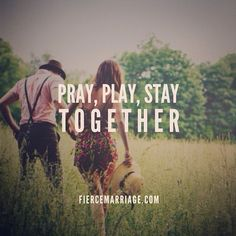 Sooooo true!!! A couple who prays together, stays together!! Been praying with and over each other since the first day we started dating