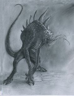 Arachnolizard by Mavros-Thanatos.deviantart.com on @DeviantArt