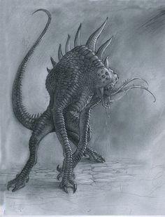 Arachnolizard by Mavros-Thanatos
