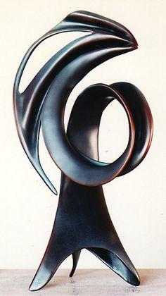 Bronze Sculpture by New Zealand artist Trevor J. A gallery of abstract and representational works of art. Metal Art Sculpture, Steel Sculpture, Modern Sculpture, Abstract Sculpture, Abstract Art, Design Art, Form Design, Design Ideas, Art Carved