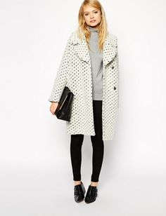 Bundle up in this vintage-inspired coat.