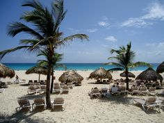 Beach at the Hard Rock Hotel in Punta Cana __by far one of my most favorite vacation spots__