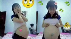 Heboh ! Beredar Foto Bocah China Pamer Perut Hamil jadi Viral di Facebook - Harian Luwak
