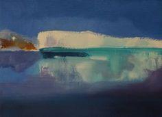"Saatchi Art Artist Marta Zamarska; Painting, ""Winter Postcard 7"" #art"