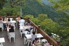 Takao-san beer garden