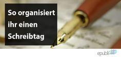 Erhaltet in unserem Blogbeitrag Tipps & Tricks zum Organisieren eures Schreibtags. Viel Spaß! http://www.epubli.de/blog/schreibtag-organisieren