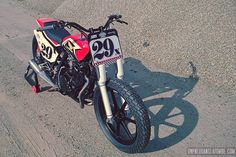 Honda XL 600 RM by Breizh Coast Kustoms