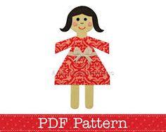 Image result for appliqued girl pattern