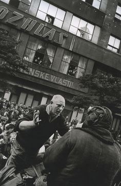 Czechoslovakia. Prague Invasion, 1968 // Josef Koudelka