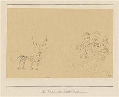 Der Fürchterliche (The Terrible One) von Paul Klee 1925