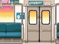 ドット絵GIFアニメ by 豊井祐太 on Tumblr