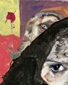 pubertad:  Egon Schiele, Mourning Woman (detail), 1912