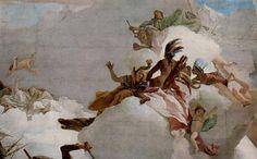 Giovanni Battista Tiepolo, great Italian painter of the 18th century.
