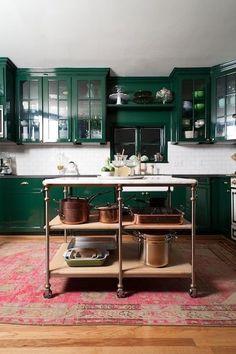 Green | Kitchen | Cabinets