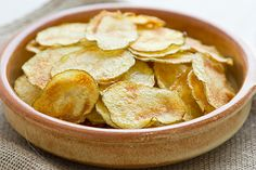 Here's a delicious, healthy Baked Potato Chip recipe that we think you'll enjoy…  Ingredients: 4 potatoes, yams, or sweet potatoes 2 teaspoons extra-virgin olive oil 1/2 teaspoon salt Directions: 1. Cut potatoes into thin slices. Toss the slices in a bowl with olive oil and salt to coat evenly.  To view full article, click here http://community.fitera.com/recipes/view/7980