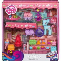 MY LITTLE PONY Playset Pinkie Pie Rainbow Cafe - Achat / Vente figurine - personnage - Cdiscount
