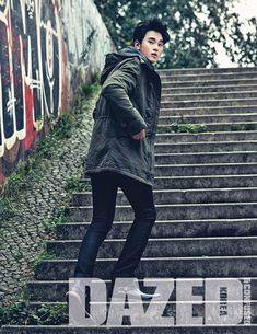 Kim Soo Hyun - Dazed and Confused Magazine November Issue '13