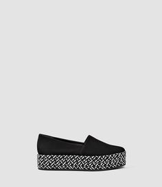 addb4f18301 Bora Slip On Shoe Saddle Leather, All Saints, Slip On Shoes, Allsaints Shoes