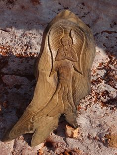 """The """"Praying Angel"""" wood carving, hand made, spiritual by SpiritualWoodCarving on Etsy"""