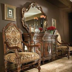 If you are having difficulty making a decision about a home decorating theme, tuscan style is a great home decorating idea. Many homeowners are attracted to the tuscan style because it combines sub… French Furniture, Dining Room Furniture, Rustic Furniture, Modern Furniture, Home Furniture, Antique Furniture, Tuscan Furniture, Cheap Furniture, Shaker Furniture