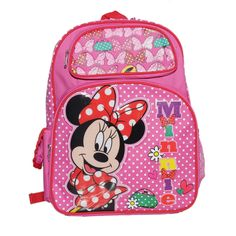 Disney Minnie Mouse Backpack Bag, Pink ** Details can be found by clicking on the image. (This is an Amazon Affiliate link and I receive a commission for the sales)