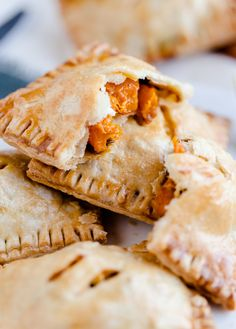 Butternut Squash and Feta Hand Pies - A delicious savory pastry!