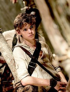 thomas brodie sangster as newt in the amazing maze runner