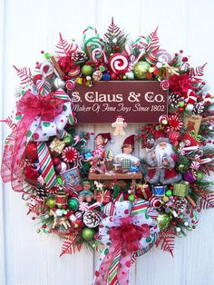 Making Toys For Santa  Elves and Santa by UpTownOriginals on Etsy