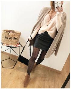 Ideas for style fashion work stylists Fashion Mode, Look Fashion, Fashion Addict, Winter Fashion, Womens Fashion, Trendy Outfits, Winter Outfits, Fashion Outfits, Classy Casual