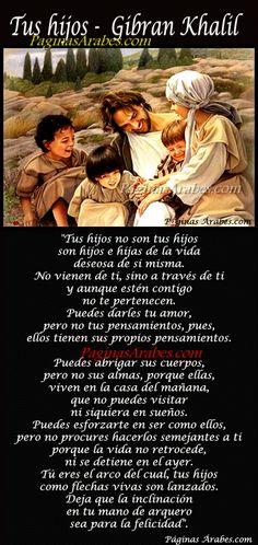Tus hijos - Gibran Khalil Gibran - paginasarabes...
