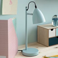 Remember to add light to your workspace, Clara recommends with a smile. Table lamp, price per item DKK 118,00 / EUR 16,58 / ISK 2794 / NOK 164,00 / GBP 15,64 / SEK 168,00