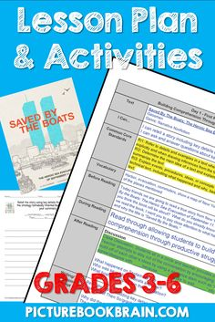 Check out this reading lesson plan full of book activities for kids and teachers including fun writi Guided Reading Lessons, Reading Lesson Plans, Kindergarten Lesson Plans, Reading Tips, Reading Response Log, Reading Intervention, Fun Writing Prompts, Cool Writing, Interactive Read Aloud