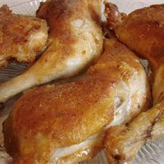 Easy Shake and Bake Chicken - Allrecipes.com add 1 tsp garlic powder and onion powder. Use poultry seasoning instead of sage. Use seasoned salt instead of salt add cayenne pepper use whole wheat flour baste boneless skinless chicken with olive oil. Add 1/4 cup parmesean cheese. Place all  ingredients in baggies and shake to coat brush baking dish with olive oil....bake 350 oven for 15 minutes. Turn and bake 15 more minutes at 400