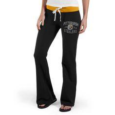 Pittsburgh Steelers Nike Women's Rally Open Hem Rewind Sweatpants ...