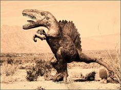 Dinosaur Sculpture - Anza Borrego Desert Photograph by Douglas MooreZart #art #douglasmoorezart