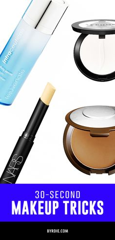 7 makeup tricks you can do in 30 seconds or less