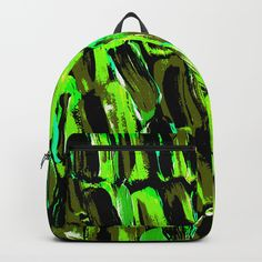 Unique art and fashion by ANoelleJay | Society6 Fabulous and bright by @anoellejay @society6 back to school solutions. Natural pattern of green sugarcane from Jamaican artist ANoelleJay