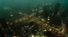 Future City By Florin Bandas