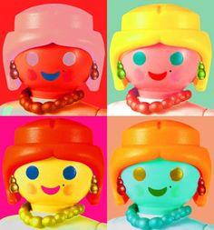 ART HISTORY playmobil ~ ANDY WARHOLL - Playmobil Richard Unglik Exhibition Bobo Kids