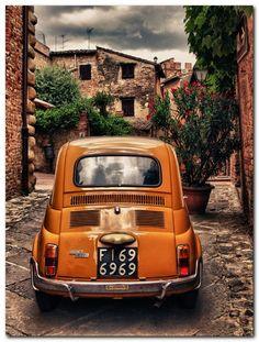 Orange 500 (Car ok. Driver needs servicing) by nedualismineregole, via Flickr