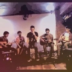 The Blue Whale band / Screenshot live performance. #brilliantlegacy #bwmusic #topbloke #ichilltheater #alternativenation