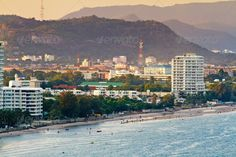 sun set time at Hua-Hin beach in Thailand ...  architecture, asia, background, bay, beach, beautiful, best, blue, building, city, clear, colorful, fresh, green, harbor, hin, holiday, hot, hua, landscape, mountain, natural, nature, ocean, outdoor, residence, resort, rest, scene, sea, seascape, season, sky, swimming, thailand, tourism, town, tranquil, travel, tree, trip, tropical, vacation, view, water, wave