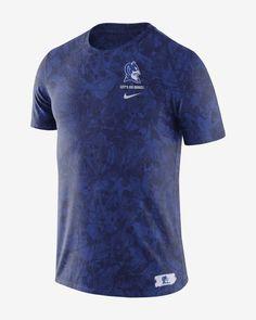 Nike College (Duke) Men's T-Shirt. Nike.com Duke T Shirts, Duke Blue Devils, Retro Look, Royal Fashion, Print Logo, Nike, Mens Tops, How To Wear, College