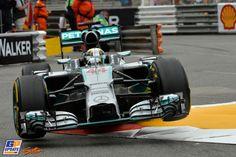 Lewis Hamilton, Mercedes Grand Prix, Formule 1 Grand Prix van Monaco 2014, Formule 1
