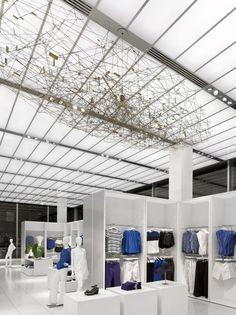 Joe Fresh New York Flagship Store by Burdifilek Architects and Designer Diego Burdi
