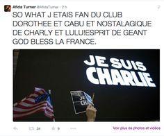 Afida Turner : sans doute le plus bel hommage à Charlie. #jesuischarlie