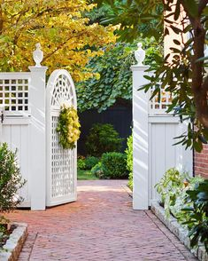 I just love this beautiful gate so much... it's creative and full of detail.  I appreciate when people take the time to make something this pretty.   Happy Tuesday everyone. This Pinterest find is a favorite of mine. If you know who it belongs to please let me know so I can give proper credit. xx