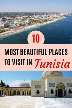 In Tunisia there are loads of beautiful places to visit like Yasmine Hammamet, Nabeul, Monastir, Tunis, Sidi Bou Said and Bizerte. Beautiful Places To Visit, Beautiful Beaches, Places To Travel, Travel Destinations, Travel Tips, Hidden Beach, Holiday Places, Enjoy The Sunshine, Amazing Buildings