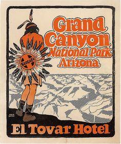 El Tovar Hotel, Grand Canyon, AZ.
