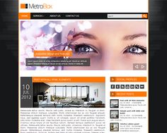 MetroBox WordPress theme
